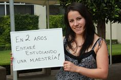 Saira Arias, estudiante de Pedagogía