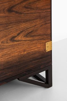 Svend Langkilde cabinet in rosewood and brass at Studio Schalling