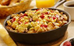 Ricetta: uova strapazzate con verdure