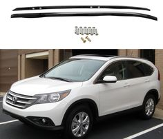 CPW (tm) 2012-2016 OE Factory Style Roof Rack Rail Bar Honda CRV CR-V Black Polish -- Awesome products selected by Anna Churchill