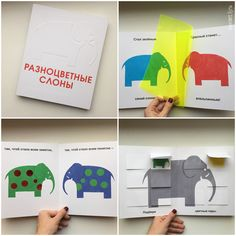 Kids books by Polyandria - Colorful elefants
