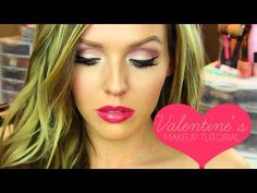 Valentine's Day Makeup Tutorial (featuring Lorac Pro Palette) - YouTube