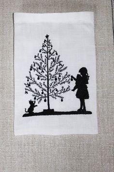 """Stickdateien - Stickdatei """"Weihnachtsbaum schmücken"""" - ein Designerstück von FeinKram bei DaWanda"""