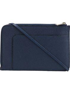 VALEXTRA Mini Shoulder Bag. #valextra #bags #shoulder bags #leather
