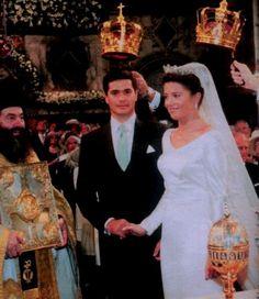 Il 9 Luglio 1999 la Principessa Alexia di Grecia e Danimarca sposa l'archietetto spagnolo e appassionato navigatore Carlos Morales Quintana.