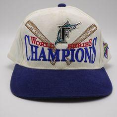 a5277e35380fa 1997 Florida Marlins World Series Champions Starter Snapback Hat Baseball  cap  Starter  BaseballCap Best