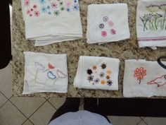 """Quick and easy way to """"fun up"""" kitchen towels"""
