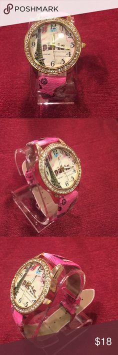 PARÍS Women Watch PINK Accessories Watches