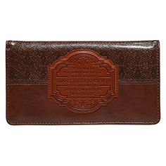 Brown I Know the Plans Checkbook Cover  Price : $9.99 http://www.veritasgifts.com/Brown-Know-Plans-Checkbook-Cover/dp/B00M7BFTJM