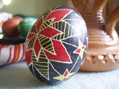 Amazing.  How to make a beautiful egg like this