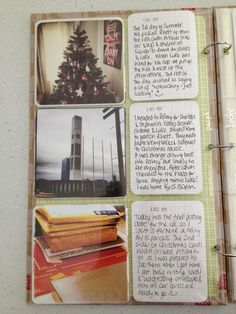 December Daily with PL design pages J