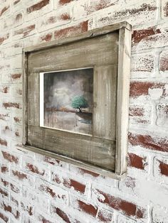 Excited to share the latest addition to my shop: inch Antique-glazed White Wooden Picture Frame, White-washed Barn Wood Picture Frame, Chippy Rustic Picture Frame With Antique Glaze Western Picture Frames, Reclaimed Wood Picture Frames, Handmade Picture Frames, Barn Wood Frames, Rustic Frames, Picture On Wood, Rustic Pictures, Barn Wood Projects, Wood Creations