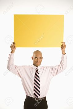 person holding a sign overhead - Google Search