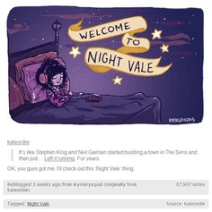 the very best description of Welcome to Night Vale there could ever be and ever will be