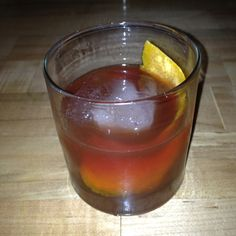 Old Fashioned at Maria's.