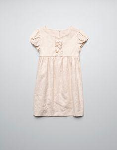 ПЛАТЬЕ ЖАККАРД С ЗАКЛЕПКАМИ - Платья - Одежда для девочек (2-14 лет) - Детская одежда - ZARA Россия