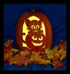 Items similar to Teddy Bat - Hand Carved on a Foam Pumpkin - Plug in light with Switch included. on Etsy Amazing Pumpkin Carving, Pumpkin Carving Patterns, Pumpkin Carving Bat, Halloween Pumpkin Carvings, Halloween Stencils, Pumpkin Mouth, Alien Hand, Pumpkin Carver, Pumpkin Crafts