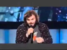 ▶ KISS FROM A ROSE - JACK BLACK ON American IDOL - YouTube