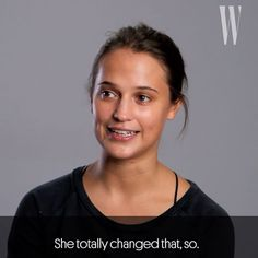 """""""I felt quite lonely and just a bit lost."""" #AliciaVikander remembers how a new friend helped her celebrate what started out as a very sad 16th birthday at ballet school. via W MAGAZINE OFFICIAL INSTAGRAM - Celebrity  Fashion  Haute Couture  Advertising  Culture  Beauty  Editorial Photography  Magazine Covers  Supermodels  Runway Models"""