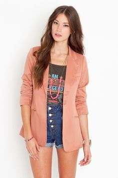 dusty rose blazer...bought one and can't wait to wear it! truly gorgeous.