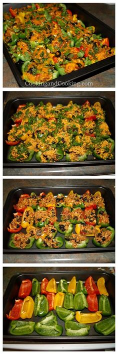 Bell Pepper Chicken Nachos Recipe, have posted something similar before, but this looks SO good!