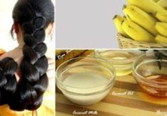 Mischen Sie Banane, Ei und Honig, um Ihr Haar nachwachsen zu lassen