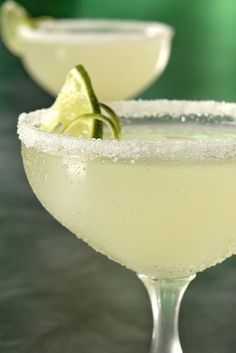 Margaritas: Adding even a third of a bottle of beer to a batch of margaritas adds acidity and lightness without making your drinks even sweeter. We prefer Mexican, of course: Tecate and Corona are both solid choices.  Source: Shutterstock