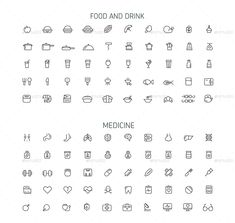 Vector line icon 1000 set by malis | GraphicRiver