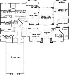 Another floor plan that has the things we\'d dream of. :) I would ...