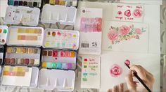 Prima Watercoloring 101 With Esther Peck #watercolorconfections #watercolor #primamarketing