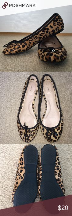 af83e516e6152 Lands' End Cheetah Print Flats Super cute! Gently warn, looks good as new!  Perfect for casual dress or a night out! Lands' End Shoes Flats & Loafers