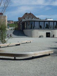 Town Hall Square of Meilen. Photography: Studio Vulkan