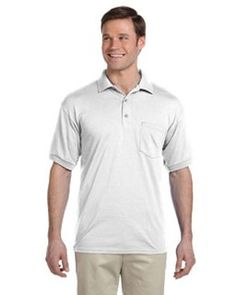 Broder Bros. G890 5.6 oz. DryBlend™ 50/50 Jersey Polo with Pocket