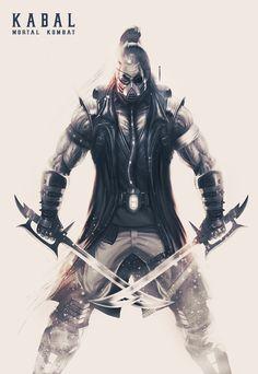 Kabal Marvel Art, Dark Souls, Fighter, Villain, Combat Art, Fantasy Beasts, Warrior, Video Game Design, Mortal Kombat Art
