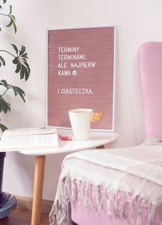 DIY: letter board / tablica na literki
