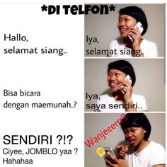 Percakapan telepon All Jokes, Funny Quotes, Funny Memes, Adult Humor, Lol, Tokyo Ghoul, Random, Fun Things, Public