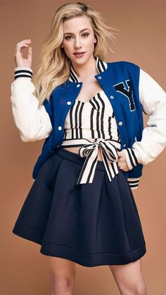Geotechnical engineer, love fashion (especially preppy style), football and literature Teen Choice Awards, Samsung Galaxy S4, Fashion Week, Love Fashion, Betty Cooper Riverdale, Stranger Things, Lili Reinhart And Cole Sprouse, Microsoft, Betty And Jughead