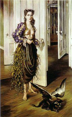 Surrrealism, Dorothea Tanning, Birthday
