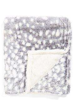Trending On ShopStyle - Kennebunk Home 'Doe a Deer' Soft Throw Blanket