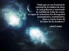 Una cita de Baha'i para su contemplación espiritual y la meditación