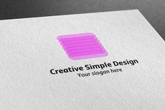 I just released Creative Simple Design Logo on Creative Market.
