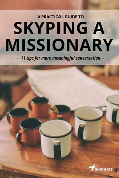Have you ever got together with a group of people to Skype a missionary and then realised you had no idea what to say?! Here are a whole bunch of questions to kickstart your Skype conversation with someone working cross-culturally. Use this list to encourage them with your care.