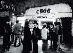 Halloween night back in 1978 at CBGBs as documented by David Godlis.