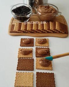 """9,197 Beğenme, 126 Yorum - Instagram'da lezzet-i_ask (@lezzeti_ask): """"Hayırlı akşamlar yazın bu sıcak günlerinde ev yapımı pudingle hazırlanmış bisküvili pasta…"""""""