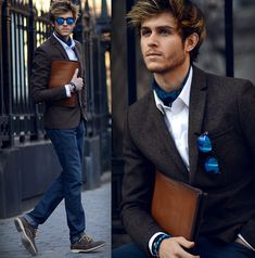 NYFW 3 - Ascot (by Adam Gallagher) http://lookbook.nu/look/4587817-NYFW-3-Ascot