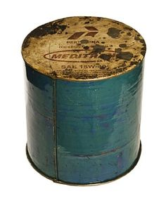 49% OFF Foreign Affairs Cargo Recycled Oil Drum Stool Oil Drum, Steel Drum, Pool Bar, Take A Seat, Image House, Coffee Cans, Drums, Home Furniture, Stool