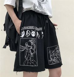Edgy Outfits, Cool Outfits, Fashion Outfits, Tomboy Fashion, Streetwear Fashion, Harajuku, Style Japonais, Mein Style, Aesthetic Clothes