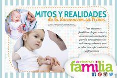 Mi Pediatra y Familia - Mitos y realidades de la vacunación en niños #mipediatrayfamilia #queremosniñossaludables