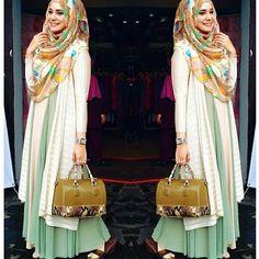 minty hijabi outfit