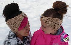 Braided Glam Cable Earwarmer -free crochet pattern-